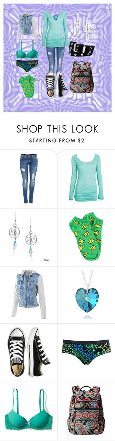 """""""A Wolf's Love #1"""" by cherokeejune ❤ liked on Polyvore featuring Journee Collection, Forever 21, Mur Mur, Converse, Björn Borg, Hollister Co., Vera Bradley and Relic"""
