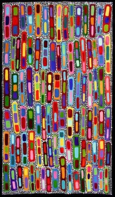 Aboriginal-Art-by-Sally-Clark-63cm-X-111cm