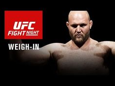 UFC FIGHT NIGHT ZAGREB WEIGH-IN VIDEO - REAL COMBAT MEDIA | REAL COMBAT MEDIA