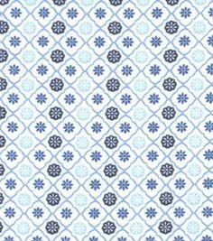 "Snuggle Flannel Fabric 42""-Twilight Trellis Geo Blue Dinosaur Fabric, Red Flannel, Joanns Fabric And Crafts, Trellis, Snuggles, Craft Stores, Twilight, Quilts, Blanket"