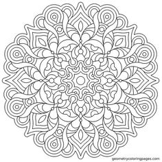 Sacred Geometry Coloring Book - 23 Sacred Geometry Coloring Book , Pin by Laura Blum On Mandala Pattern Coloring Pages, Mandala Coloring Pages, Coloring Pages To Print, Coloring Book Pages, Printable Coloring Pages, Mandala Art, Mandalas Drawing, Mandala Pattern, Zentangles