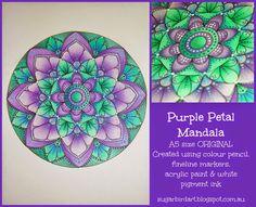 Sugarbird: Making a Mandala Part 3
