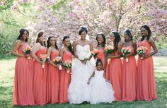 from essence.com's Bridal Bliss: Vanessa and Hakim