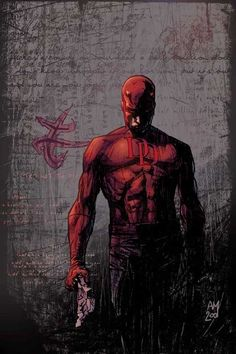 Daredevil #28 cover (the silent issue!) by Alex Maleev.