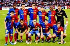 EQUIPOS DE FÚTBOL: BARCELONA Campeón de Europa 2009
