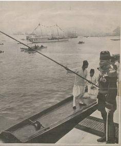 Mahmut Şevket Paşa Hazretleri,Dolmabahceden ayrılırken.