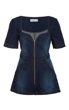 See You Bye Playsuit by ALICE MCCALL for Preorder on Moda Operandi