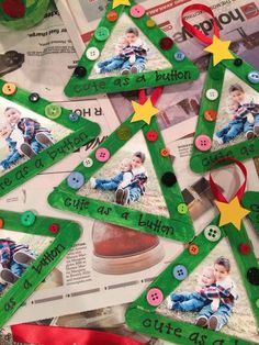 Christmas Crafts with popsicle sticks 59 Super ideas for craft holiday popsicle sticks Kindergarten Christmas Crafts, Christmas Crafts For Toddlers, Christmas Crafts For Kids To Make, Toddler Christmas, Xmas Crafts, Preschool Crafts, Spring Crafts, Montessori Preschool, Diy Crafts