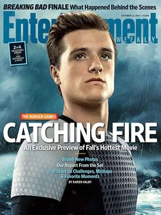 The Hunger Games EW cover w/ Josh Hutcherson as Peeta