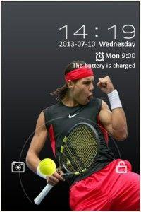 Rafael Nadal Theme for Go Locker Motorola Droid, Rafael Nadal, Phone, Telephone, Mobile Phones