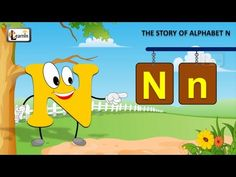 The N Song | Letter N song | Story of letter N | Abc songs | Learning en... Letter H Activities For Preschool, Preschool Songs, Alphabet Activities, Summer Activities, Letter M Song, Letter N, Letter A Crafts, Abc Songs, Alphabet Songs
