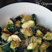 Garlic Roasted Zucchini - Page 2The Gingered Whisk: Garlic Roasted Zucchini - Page 2