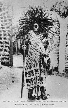 Africa   Great chief of Balé (King Fonyonga II of Bali-Nyonga, r. 1901–40).  Cameroon. ca. 1935