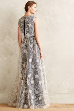 Cloudlace Gown #anthropologie #anthrofave
