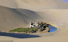 Tlcharger Fond d'ecran Chine, Le dsert de Gobi, Lac Yueyatsyuan, sable Fonds…