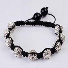 Bracelets & Wristbands - Crystal Beads Bracelet http://www.ezebee.com/ilikediy