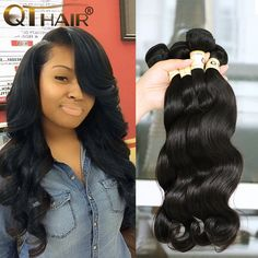 Queen Hair Products Brazilian Body Wave Virgin Hair 4 Bundles 8A Brazilian Virgin Hair Body Wave 100 Soft Human Hair Weave Sexay ** Locate the offer simply by clicking the image