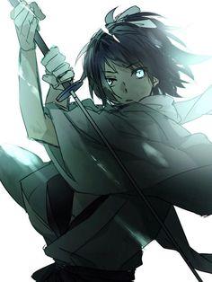 Doodle Characters, Anime Characters, Samurai Poses, Character Drawing, Character Design, Action Poses, Noragami, Touken Ranbu, Akira