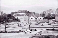 Vigo, ciudad olívica. Fotos antiguas. Campo de Granada, actual Plaza del Rey