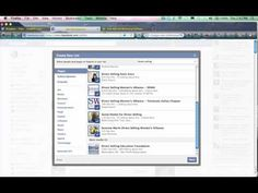 How to Use Facebook Interest Lists – Categorize Pages and people you subscribe to. Create your own (and add yourself) and get new readers! Video tutorial by www.mybusinesspresence