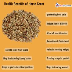 Health benefits of horse gram #weightloss #natural #health #thefitglobal