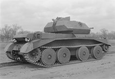 British Cruiser Mk IVA tank, date unknown