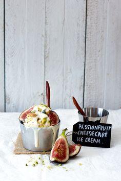 passiOnfruit cheesecake ice cream
