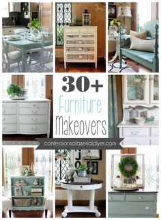 30+ Confessions of a Serial Do-it-Yourselfer Furniture Makeovers