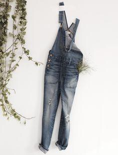 madewell skinny overalls.