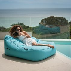 Satellite Twin Sofa – Stunning outdoor person) quilted Bean bag Any individual can develop a property sweet house, even when the budget i. Bean Bag Couch, Baby Bean Bag Chair, Bean Bag Lounger, Bean Bags Australia, Blue Bean Bags, Bali, Surf Room, Outdoor Bean Bag, Backyard Hammock