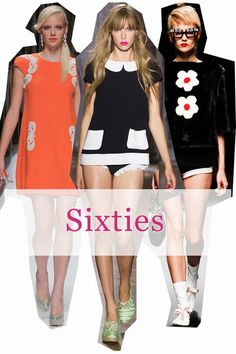 The hottest fashion trends for spring/summer 2013 - the swinging sixties are back!