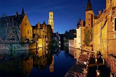 Visit Bruges with our chauffeur driven cars services based in Brussels. Ask for a free quote now