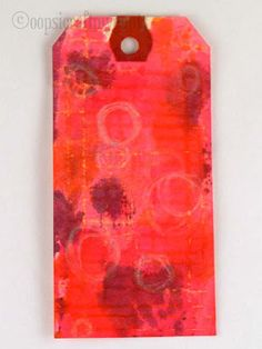 Oops, I Craft My Pants: How to make 8 funky backgrounds using Tim Holtz Distress Stains