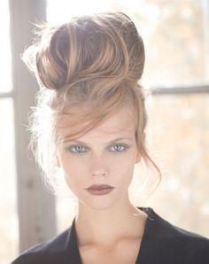 Coiffure de mariage : chignon bun glamour - Coiffure soirée : des idées pour les cérémonies - Journal des Femmes Beauté