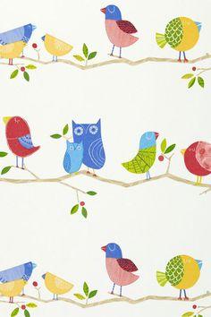 What A Hoot - Kids Wallpaper Ideas & Designs (houseandgarden.co.uk)
