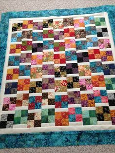 4 patches are four cut plus sashing cut 2 x block length sewn to one side of block. It's that time again - time for another great scrap quilt tutorial, simple and quick enough for charity quilts. PDF Baby Quilt Pattern using charm squares or jelly roll, C Scrappy Quilt Patterns, Jelly Roll Quilt Patterns, Batik Quilts, Lap Quilts, Jellyroll Quilts, Strip Quilts, Patchwork Quilting, Scraps Quilt, Crazy Quilting