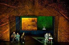 Uncle Vanya, The Lyric Theatre Belfast, set design by Igor Vasiljev