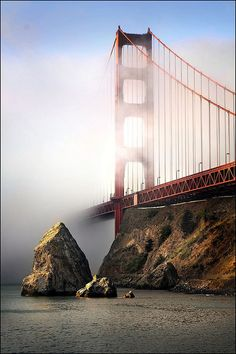 Golden Gate Fog, San Francisco | by jody9, via Flickr