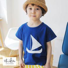 0a51b2f35d220 chichikaka(チチカカ)-New 2015-Summer -新作-男の子-Sailling Ship Tシャツ color(Blue)- 韓国子供服通販ショップ 虹色-nijiiro-