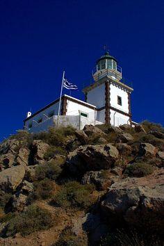 Greece lighthouse