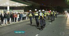 PM faz operação contra rachas na Marginal Pinheiros