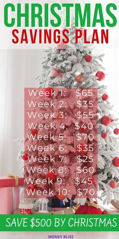 Use this weekly money challenge from Money Bliss for a Christmas Saving Plan. Save $500 for Christmas gifts. Start no later than October, but July or August are preferable. Make sure your holidays are covered for this xmas! Download your free Christmas budget printable, too! - Money Bliss Saving Money For Christmas, Christmas Savings Plan, Christmas On A Budget, Email Christmas Cards, Christmas Gifts, Xmas, Christmas Worksheets, Holiday Stress, Jingle All The Way