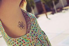 atom tattoo | Tumblr