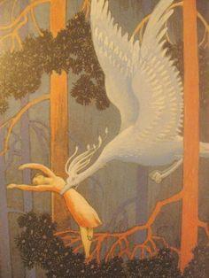 Rudolf Koivu Magazine Illustration, Children's Book Illustration, John Bauer, Beautiful Fairies, Art For Art Sake, Conte, Vintage Prints, Great Artists, Illustrations Posters