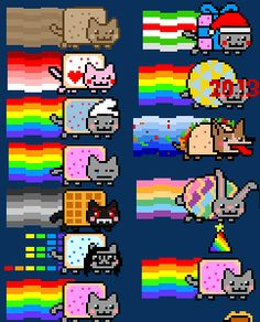 Two Little C\'s: Obsessed with Nyan Cat