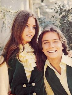 Susan Dey and David Cassidy, 1971.