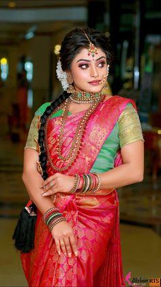Rav B Beauty: Toronto Makeup Artist, Brampton Makeup Artist, Bridal Indiana, Saree Hairstyles, Indian Wedding Photos, Bridal Pictures, Girly Pictures, Indian Bridal Makeup, Fancy Blouse Designs, Saree Wedding, Bridal Sarees