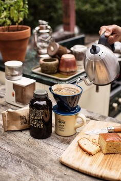 Coffee; Breakfast; Food.