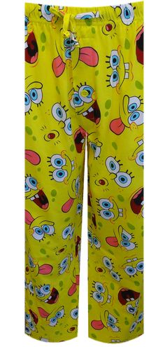 WebUndies.com Nickelodeon SpongeBob Many Moods Lounge Pants
