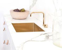 dekton counter - brass sink |  | ballingslov